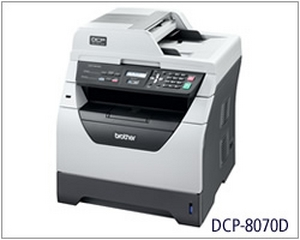 Máy in Brother DCP 8070D, Duplex, In, Scan, Copy, Laser trắng đen