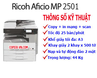 Máy photocopy Ricoh MP2501L(New)