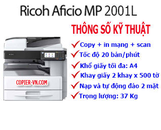 Máy photocopy Ricoh MP2501SP(New)